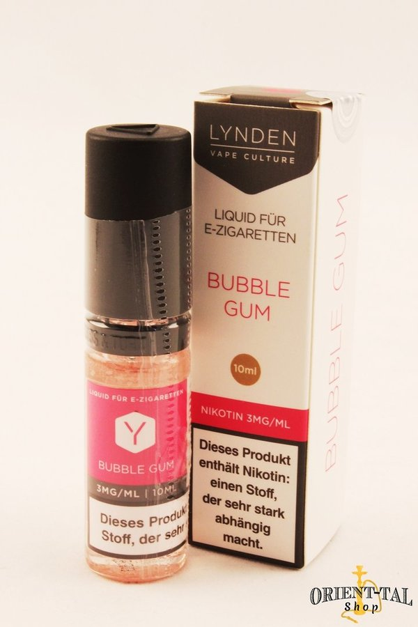 Lynden Bubble Gum Liquid - 3mg