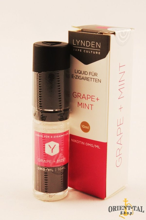 Lynden Grape + Mint Liquid - 0mg